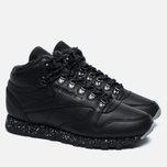 Зимние кроссовки Reebok Classic Leather Mid Sherpa II Perfect Split Black/Flat Grey фото- 2