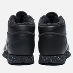 Зимние кроссовки Reebok Classic Leather Mid Sherpa II Perfect Split Black/Flat Grey фото- 5