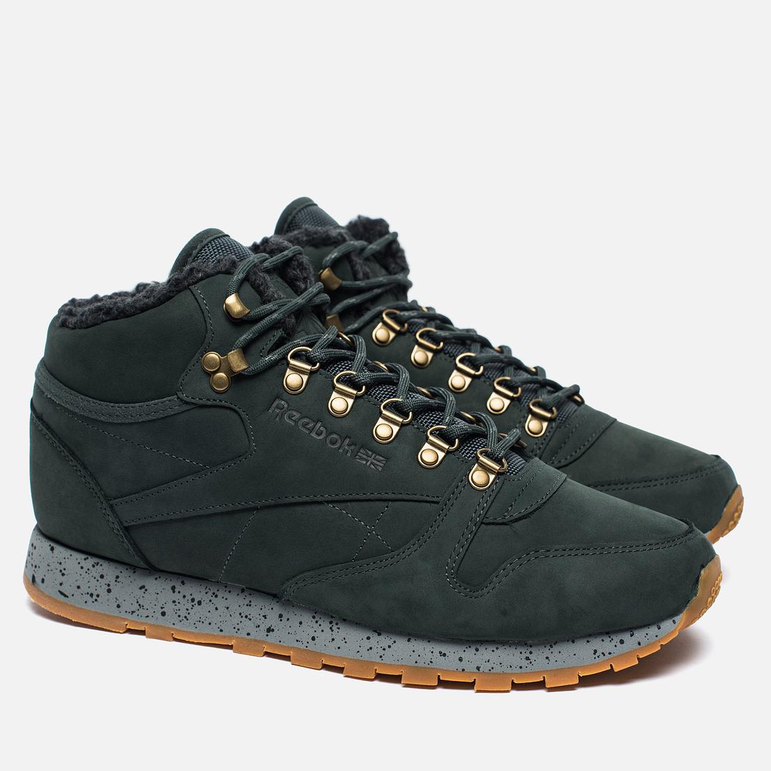 reebok classic leather mid sherpa