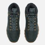 Зимние кроссовки Reebok Classic Leather Mid Sherpa II Perfect Split Dark Green фото- 4