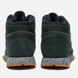 Зимние кроссовки Reebok Classic Leather Mid Sherpa II Perfect Split Dark Green фото- 5