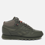 Кроссовки Reebok Classic Leather Mid TWD Hunter Green/Stone Grey фото- 0