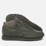 Кроссовки Reebok Classic Leather Mid TWD Hunter Green/Stone Grey фото- 2