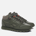 Кроссовки Reebok Classic Leather Mid TWD Hunter Green/Stone Grey фото- 1