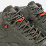Кроссовки Reebok Classic Leather Mid TWD Hunter Green/Stone Grey фото- 5