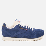 Кроссовки Reebok Classic Leather Midnight Blue/Chalk/Paper White фото- 0
