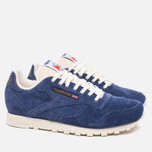 Кроссовки Reebok Classic Leather Midnight Blue/Chalk/Paper White фото- 1