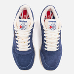 Кроссовки Reebok Classic Leather Midnight Blue/Chalk/Paper White фото- 4