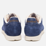 Кроссовки Reebok Classic Leather Midnight Blue/Chalk/Paper White фото- 3