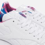 Кроссовки Reebok Classic Leather Munchies Pack White/Horizon Blue/Pink Craze фото- 5