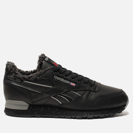 Кроссовки Reebok Classic Leather MU Black/Flat Grey/Silver