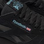 Кроссовки Reebok Classic Leather MU Black/Mineral Mist фото- 6