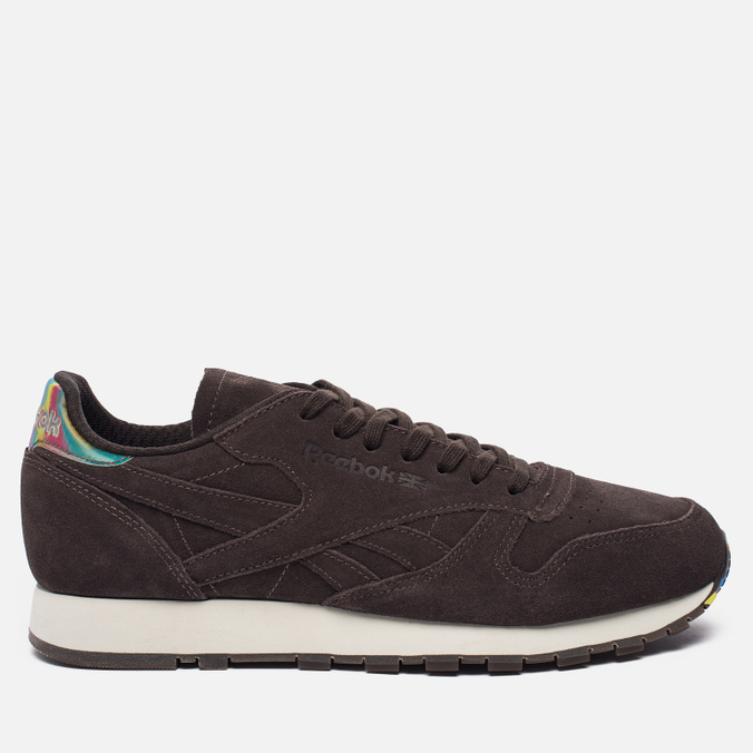 Кроссовки Reebok Classic Leather Munchies Pack Dark Brown/Classic White/Bright Yellow