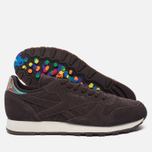 Кроссовки Reebok Classic Leather Munchies Pack Dark Brown/Classic White/Bright Yellow фото- 1