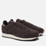 Кроссовки Reebok Classic Leather Munchies Pack Dark Brown/Classic White/Bright Yellow фото- 2