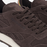 Кроссовки Reebok Classic Leather Munchies Pack Dark Brown/Classic White/Bright Yellow фото- 5