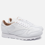 Кроссовки Reebok Classic Leather PN White фото- 1