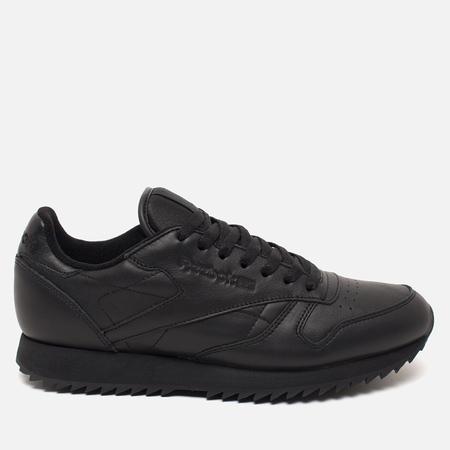 Reebok Classic Leather Ripple Mono Sneakers Black