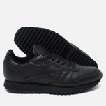 Кроссовки Reebok Classic Leather Ripple Mono Black фото- 2