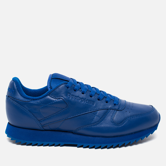 Кроссовки Reebok Classic Leather Ripple Mono Collegiate Royal