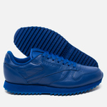 Кроссовки Reebok Classic Leather Ripple Mono Collegiate Royal фото- 2