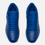 Кроссовки Reebok Classic Leather Ripple Mono Collegiate Royal фото- 4