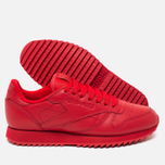 Кроссовки Reebok Classic Leather Ripple Mono Scarlet фото- 2