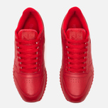 Кроссовки Reebok Classic Leather Ripple Mono Scarlet фото- 4