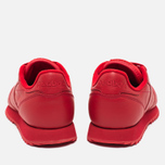 Кроссовки Reebok Classic Leather Ripple Mono Scarlet фото- 3