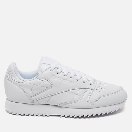 Reebok Classic Leather Ripple Mono Sneakers White