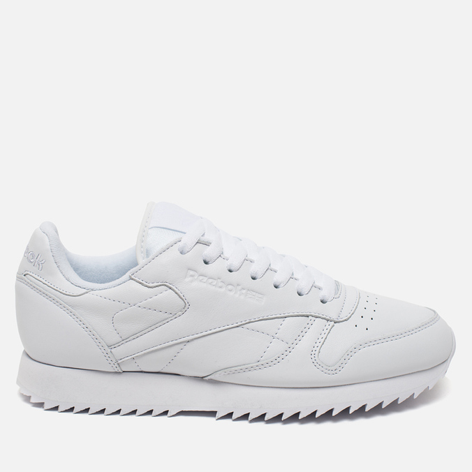 Кроссовки Reebok Classic Leather Ripple Mono White