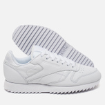 Кроссовки Reebok Classic Leather Ripple Mono White фото- 2