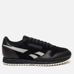 Кроссовки Reebok Classic Leather Ripple SM Black/Cool Shadow/Chalk фото- 0