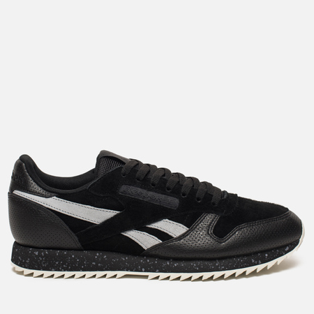 Кроссовки Reebok Classic Leather Ripple SM Black/Cool Shadow/Chalk