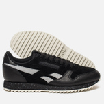 Кроссовки Reebok Classic Leather Ripple SM Black/Cool Shadow/Chalk фото- 2