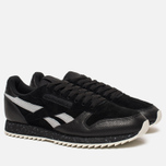 Кроссовки Reebok Classic Leather Ripple SM Black/Cool Shadow/Chalk фото- 1