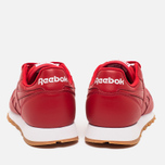 Мужские кроссовки Reebok Classic Leather Scarlet/White/Gum фото- 3