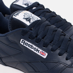Мужские кроссовки Reebok Classic Leather Collegiate Navy/White/Gum фото- 5