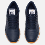Мужские кроссовки Reebok Classic Leather Collegiate Navy/White/Gum фото- 4