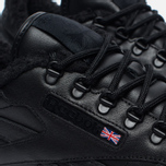 Зимние кроссовки Reebok Classic Leather Sherpa TS Black/Beach Stone/Gum фото- 3