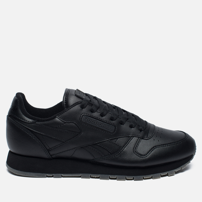 Кроссовки Reebok Classic Leather Solids Italy Pack Black