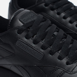 Кроссовки Reebok Classic Leather Solids Italy Pack Black фото- 3