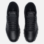 Кроссовки Reebok Classic Leather Solids Italy Pack Black фото- 4