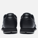 Кроссовки Reebok Classic Leather Solids Italy Pack Black фото- 5