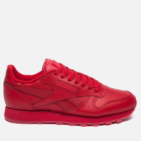 Кроссовки Reebok Classic Leather Solids Italy Pack Scarlet
