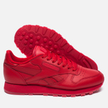 Кроссовки Reebok Classic Leather Solids Italy Pack Scarlet фото- 1