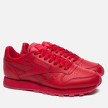 Кроссовки Reebok Classic Leather Solids Italy Pack Scarlet фото- 2