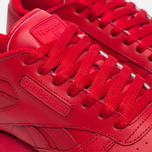 Кроссовки Reebok Classic Leather Solids Italy Pack Scarlet фото- 3
