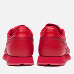 Кроссовки Reebok Classic Leather Solids Italy Pack Scarlet фото- 5