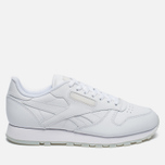 Кроссовки Reebok Classic Leather Solids Italy Pack White фото- 0
